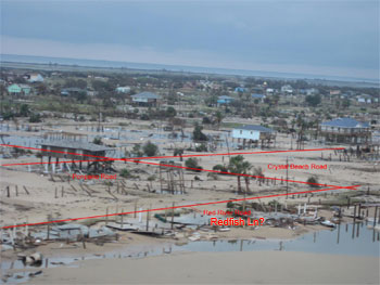 At The Bottom Beach Center Between Gilmore And Holiday Drive You Can See Casa Blanca Hotel